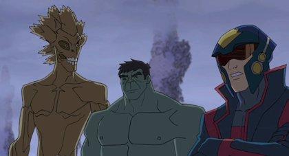 ¿Harán equipo Hulk y Guardianes de la galaxia tras Los Vengadores 2?