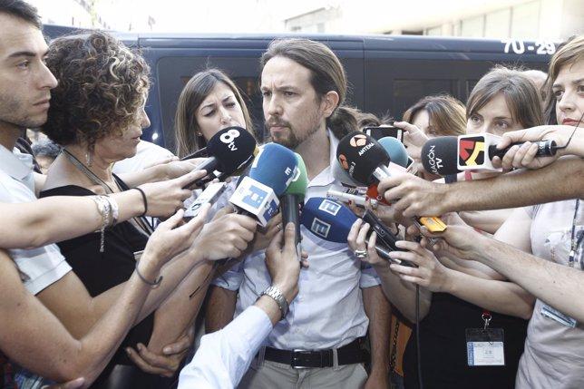 Pablo Iglesias, Podemos
