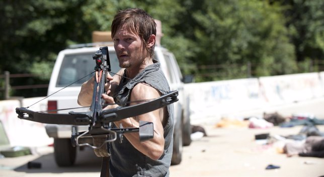 Daryl Dixon (Norman Reedus) en The Walking Dead