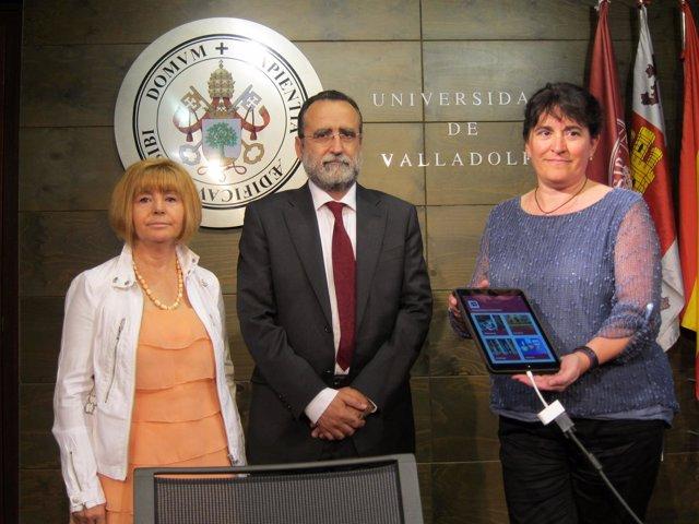 Presentación de la app 'BiblioUVA' en el Palacio de Santa Cruz