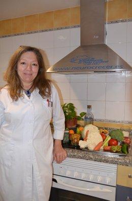 Directora de CRECER, Rosa Domínguez