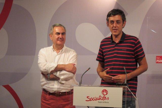 Madina y González Tovar, en rueda de prensa