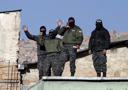 Sólo el 50% de los policías están en sus puestos en Bolivia
