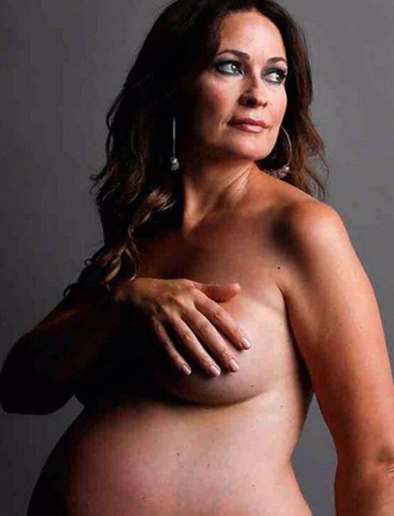 Olvido Hormigos A La Altura De Shakira Posa Desnuda Y Embarazada