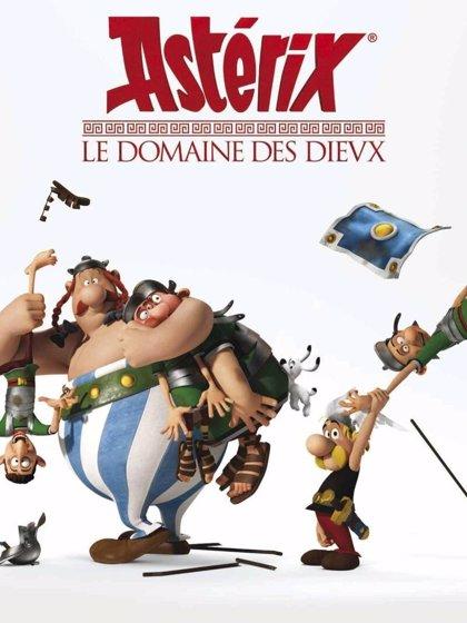 Primer avance y cartel de 'Astérix: Le domaine des dieux'