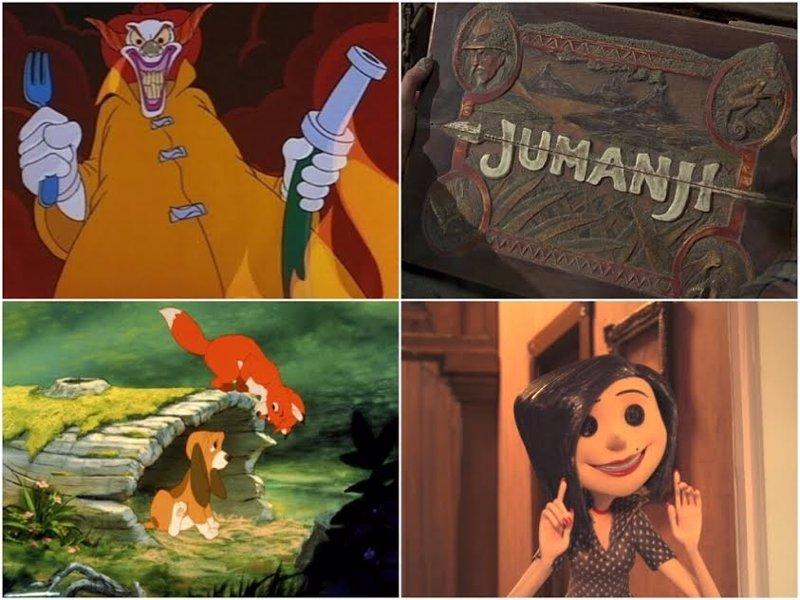 Eran estas películas realmente para niños?