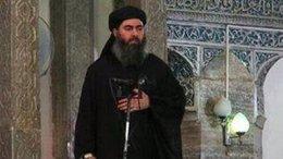 El califa del Estado Islámico, Abú Bakr al Baghdadi