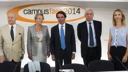 Aznar cree que el desafío secesionista del nacionalismo pone en cuestión la unidad y la continuidad histórica de España