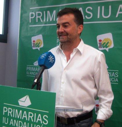 """Maíllo ve """"reforzada"""" a IULV-CA tras un 77% de participación en las primarias"""
