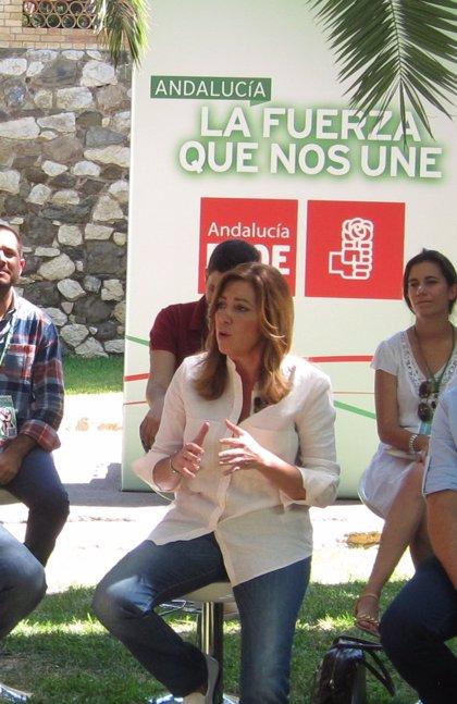"""Díaz acusa a Rajoy de """"trampear con leyes por intereses electorales"""""""