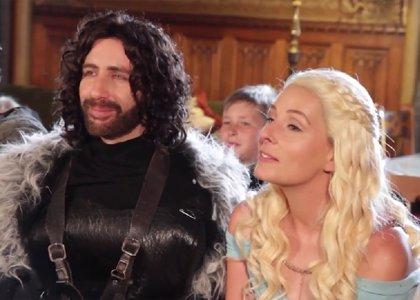 ¿Te atreverías? Una sorprendente boda al estilo de Juego de Tronos