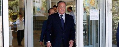 "Florentino Pérez: ""Todos estamos muy preocupados"""