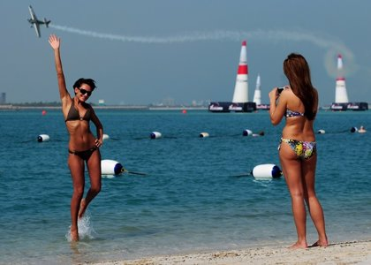 La playa de Abu Dabi, exclusiva solo para mujeres
