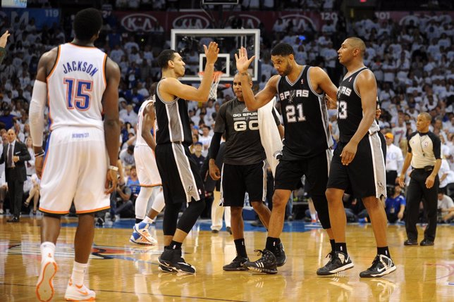 NBA Playoffs San Antonio Spurs Oklahoma City Thunder