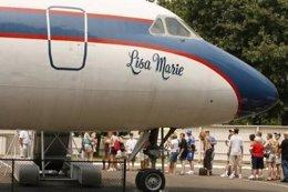 Un avión de Elvis Presley