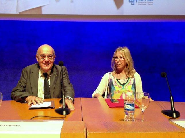 Los consellers Boi Ruiz y Neus Munté