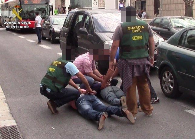 Detenciones de un grupo que vendía misiles rusos a paramilitares