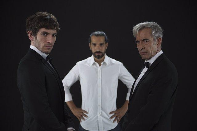Quim Gutiérrez e Imanol Arias, 'Anacleto agente secreto'
