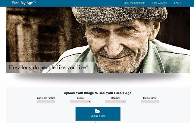 Con Face My Age podrás ver cómo serás dentro de 20 años.
