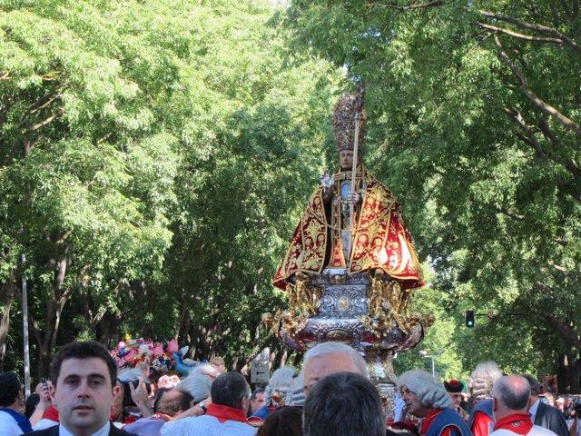 Procesión de San Fermín.
