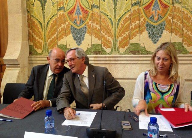Boi Ruiz, Xavier Trias y Neus Munté