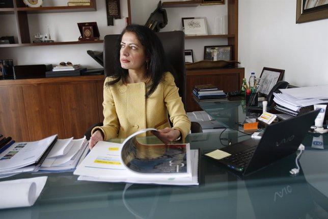 Amina al-Rustamani líder ejecutiva de TECOM
