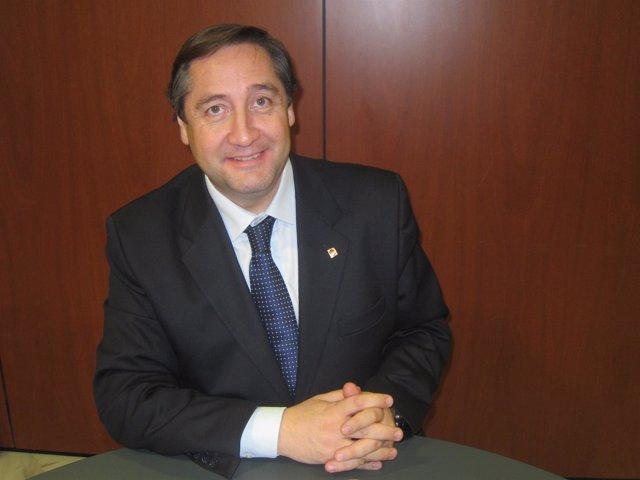El conseller de Agricultura, Josep Maria Pelegrí (Archivo)