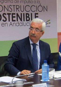 Consejero de la Presidencia, Manuel Jiménez Barrios.