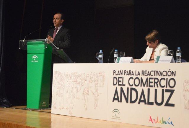 Consejero Turismo y Comercio, Rafael Rodríguez, Junta Andalucía