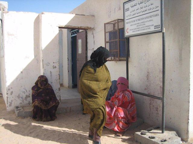 OMC refugiados en Tindouf