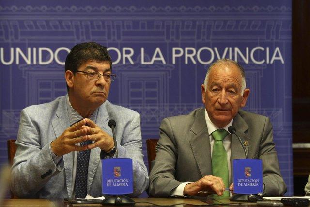 Diego Valderas (IU) y Gabriel Amat (PP)