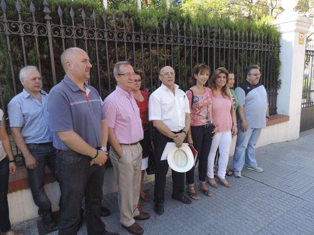 Movilización por juicio abierto contra villalba y fuetnes por huelga general 12