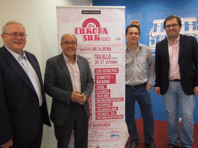 Presentación De V Europa Sur En Cáceres
