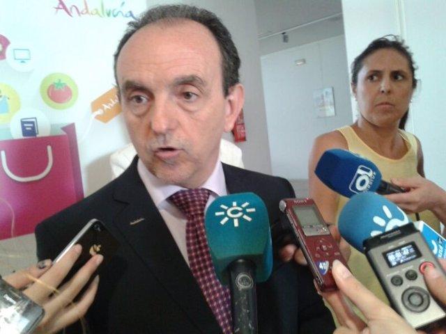 Consejero Turismo Junta Andalucía Rafael Rodríguez