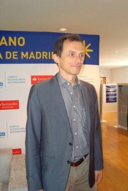 Pedro Duque, en La Granja
