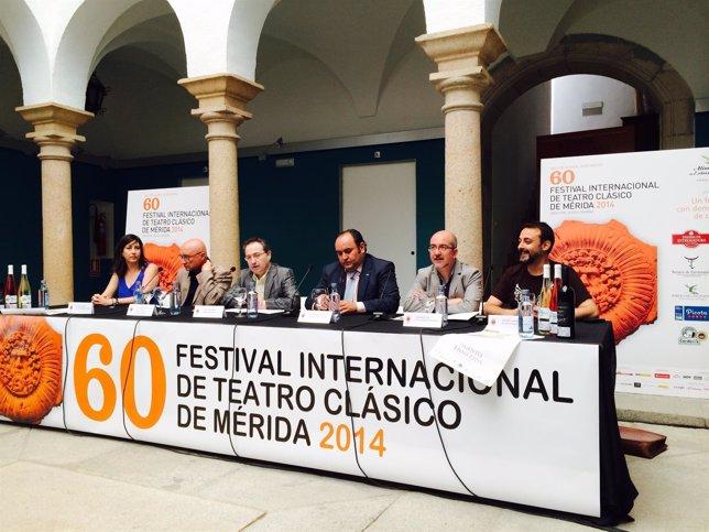 Presentación programa Off festival de Mérida