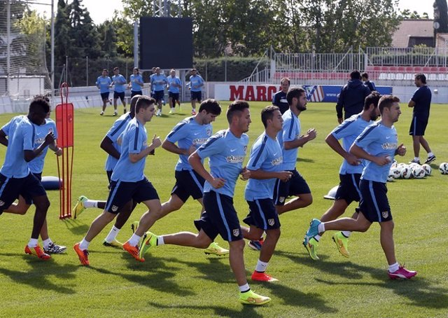 El Atlético vuelve al trabajo