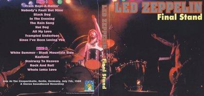 Hoy se cumplen 34 años del último concierto de la formación original de Led Zeppelin