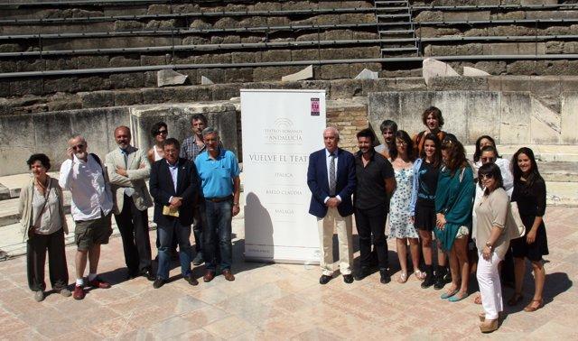 Itálica inicia la temporada de programa 'Teatro Romanos de Andalucía'