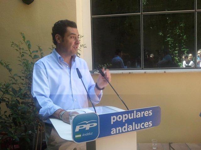 Junma Moreno, hoy ante los medios