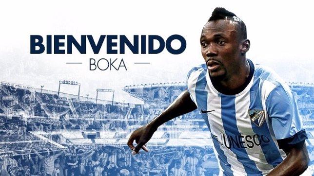 Arthur Boka, nuevo jugador del Málaga