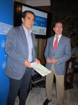 Nieto y Jaén durante la presentación