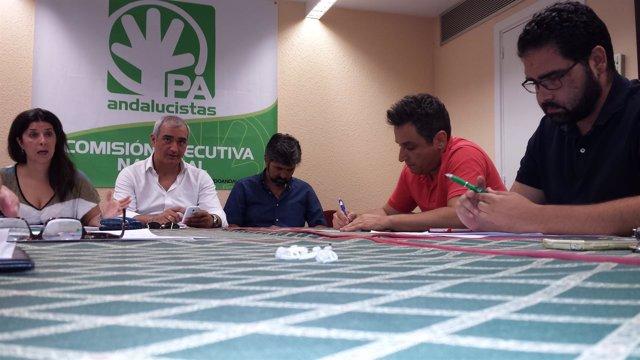 Reunión de la Ejecutiva del PA