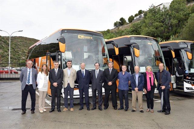 Nuevos autobuses de Sarfa