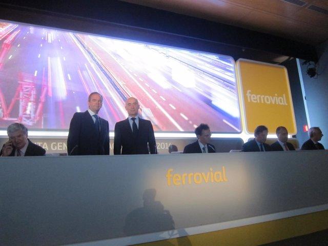 Ferrovial, junta de accionistas 2014