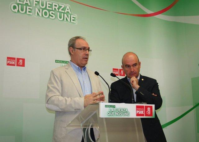 Durán y Carmona en la rueda de prensa