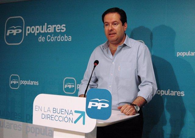 El parlamentario del PP por Córdoba Adolfo Molina