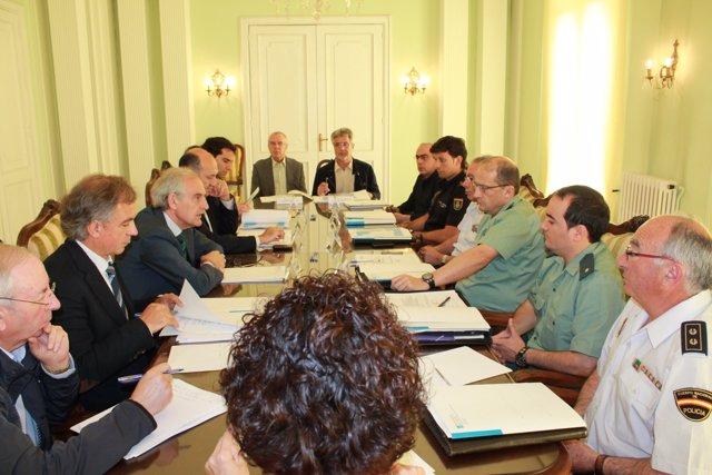 Reunión de la Comisión de Coordinación Policial contra los incendios forestales