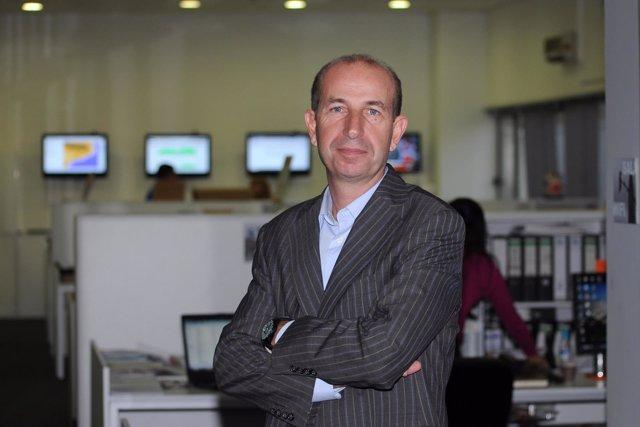 El director ejecutivo de Eurona Telecom, Jaume Sanpera