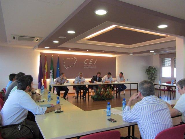 Reunión de la junta directiva de la CEJ